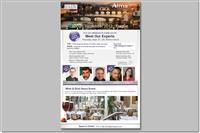 עיצוב ובניה של ניוזלטר לקראת כינוס מקצועי בין-לאומי, המדוור לרשימת התפוצה
