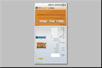 עיצוב ובניה של דף נחיתה הכולל טופס להזמנת טיסות, המדוור לרשימת התפוצה
